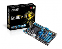 Placa de baza Asus Socket AM3+, M5A97 PLUS, AMD 970/SB950, 4*DDR3 2133 (O.C.)/1866/1600/1333/1066 MHz,